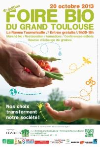 Affiche 8° Foire Bio du Grand Toulouse
